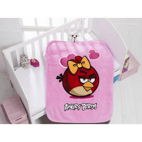 Couverture pour bébé_Angry Birds Valentine