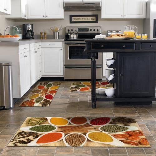 Tapis de cuisine 3D patchwork 3 pièces (NEW)