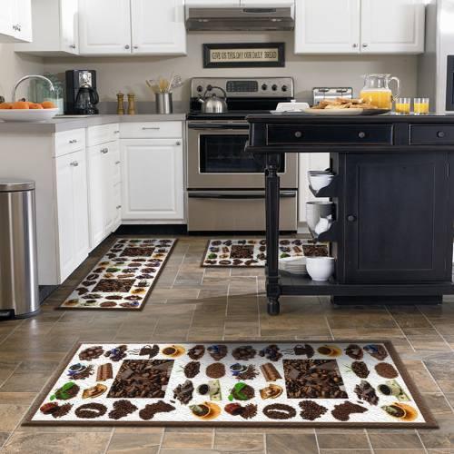 Tapis de cuisine 3D  patchwork 3 pièces (OLD)
