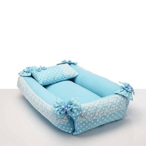 Dekoreko Landeau pour bébé _bleu