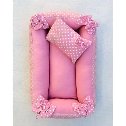 Dekoreko landeau pour bébé rose