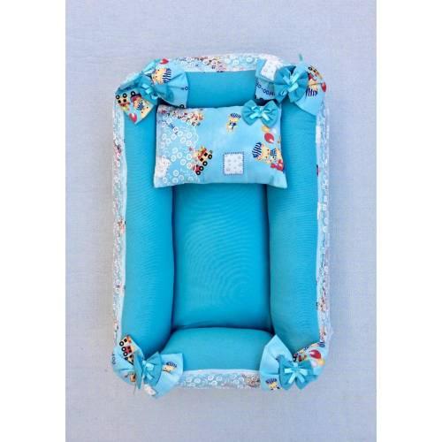 Dekoreko landeau pour bébé bleu