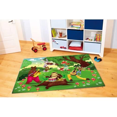 Tapis Dekoreko pour Enfants CUIR 5040 80x150