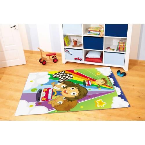 Tapis Dekoreko pour Enfants Patchwork 5041 80x150cm