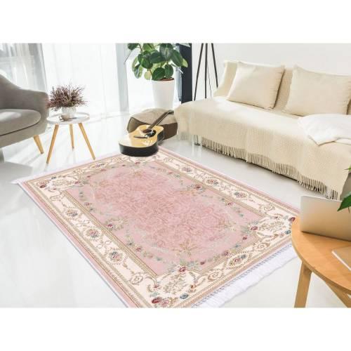 Dekoreko tapis patchwork avec boucle 180x280 cm
