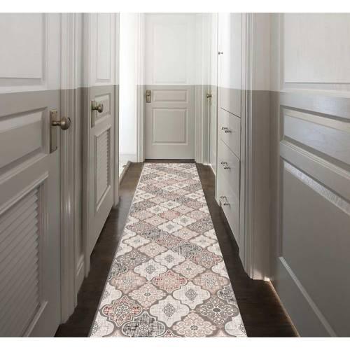 Tapis de couloir 80x200 Rectangulaire - (DE-BL)