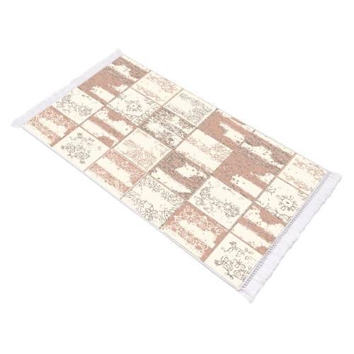 Tapis couloir rectangulaire cuir 80x150 (h-036)
