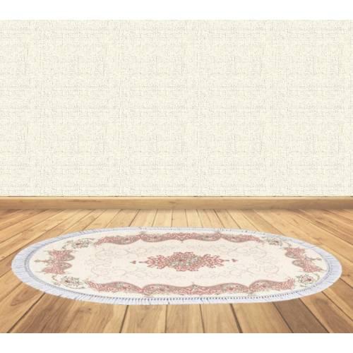Dekoreko tapis Antidérapant oval 5021 avec boucle 80x120 cm